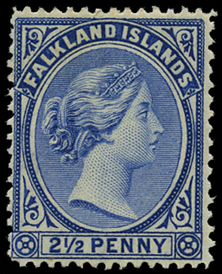 FALKLAND ISLANDS 1891  SG30 Mint