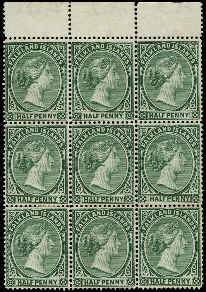 FALKLAND ISLANDS 1891  SG15 Mint
