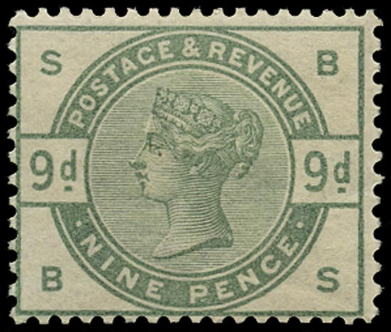GB 1883  SG195wi Mint unmounted o.g. example