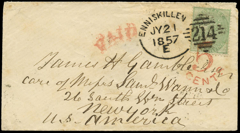 GB 1857  SG73 Cover