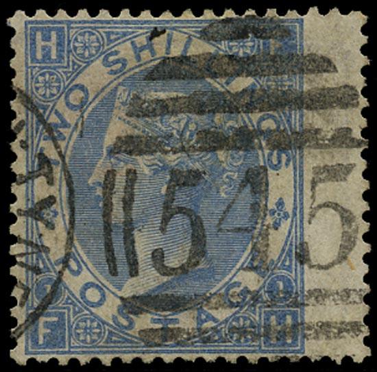 GB 1867  SG120a Pl.1 Used