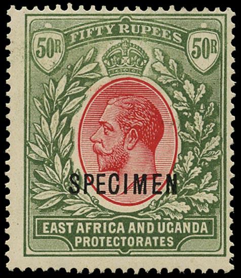 KUT 1921  SG75s Specimen Unmounted
