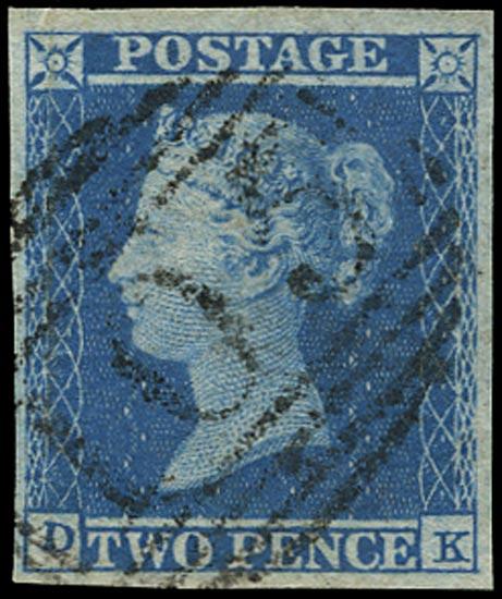 GB 1841  SG13 Pl.4 Used Bracknell numeral