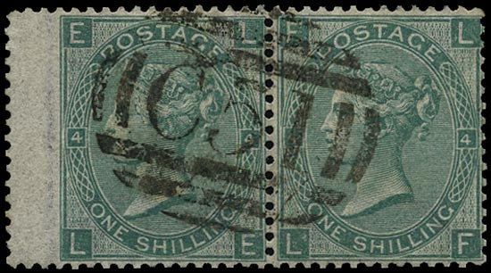 GB 1865  SG101 Pl.4 Used