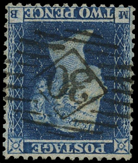 GB 1855  SG23wi Pl.4 Used