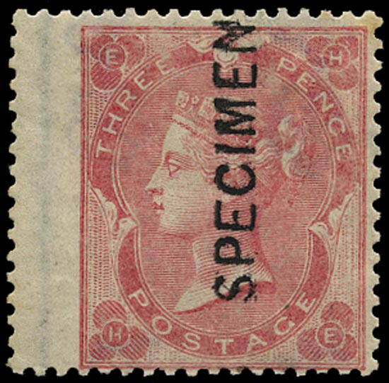 GB 1865  SG75var Pl.2 Specimen