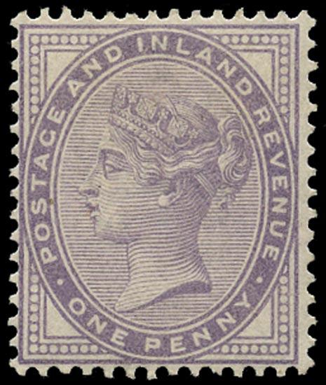 GB 1881  SG170var Mint