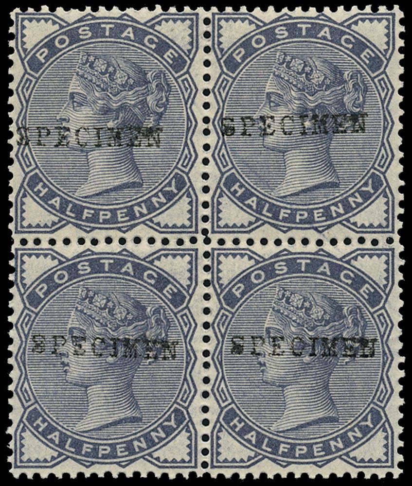 GB 1883  SG187s Specimen