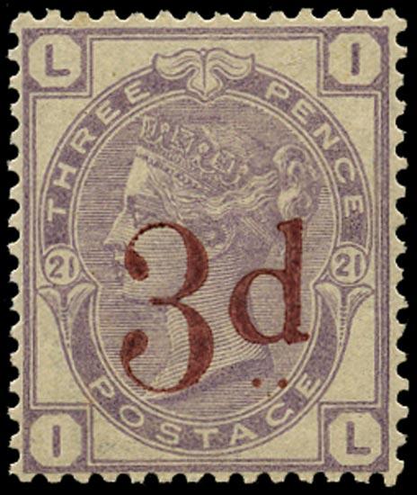 GB 1883  SG159 Pl.21 Mint