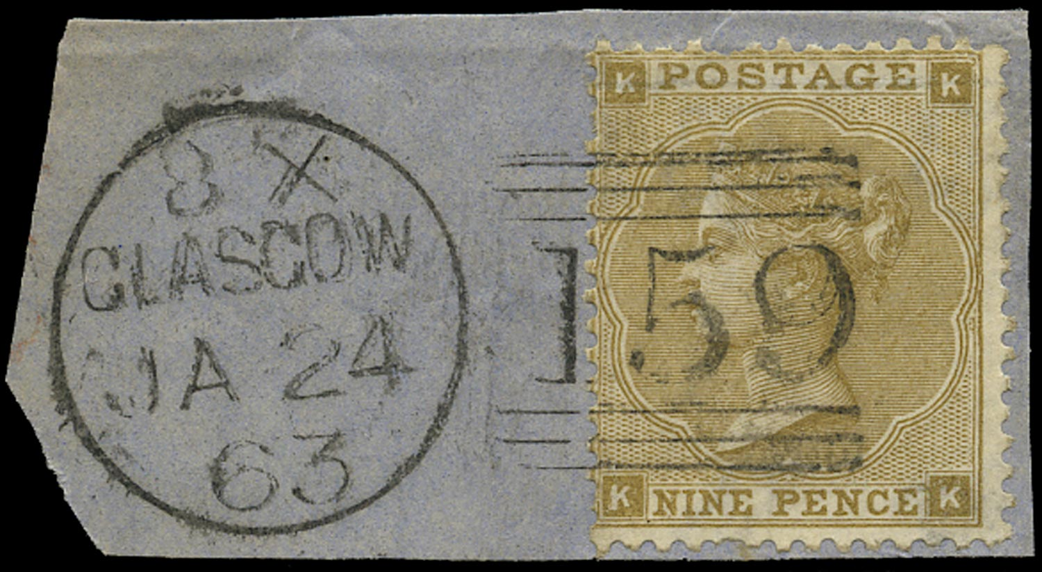 GB 1862  SG86 Pl.2 Used