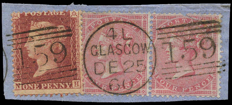 GB 1857  SG40,66 Used