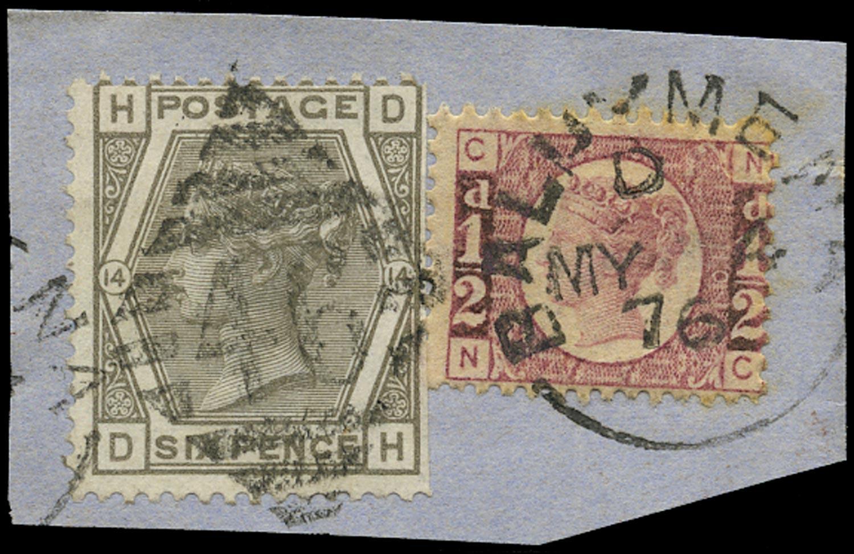 GB 1876  SG48,147 Used