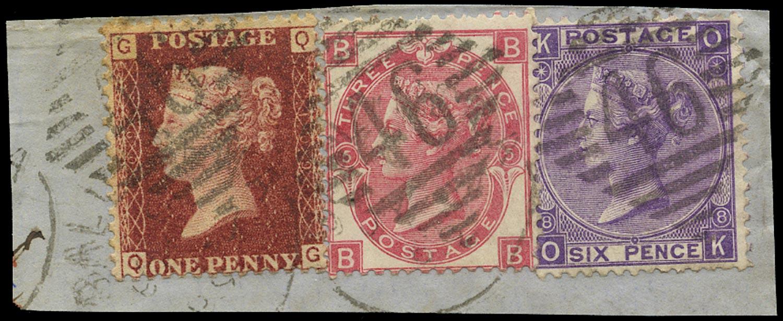 GB 1875  SG43,103,109 Used