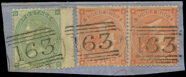 GB 1862  SG80,90 Used