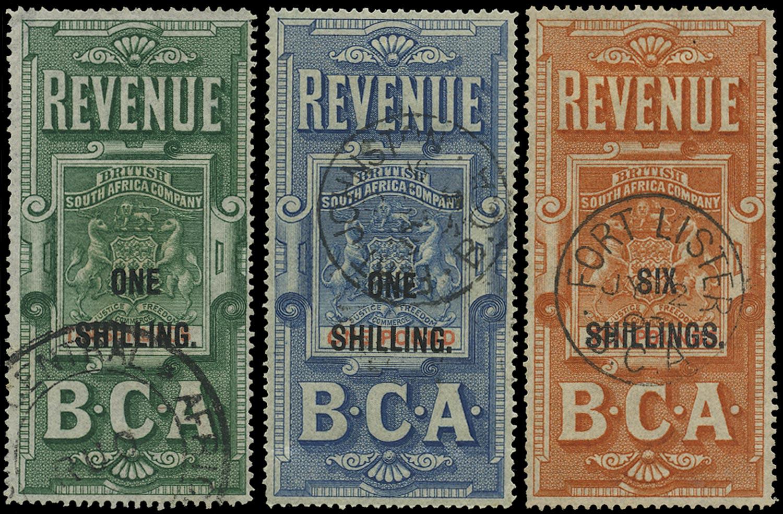 NYASALAND 1893 Revenue