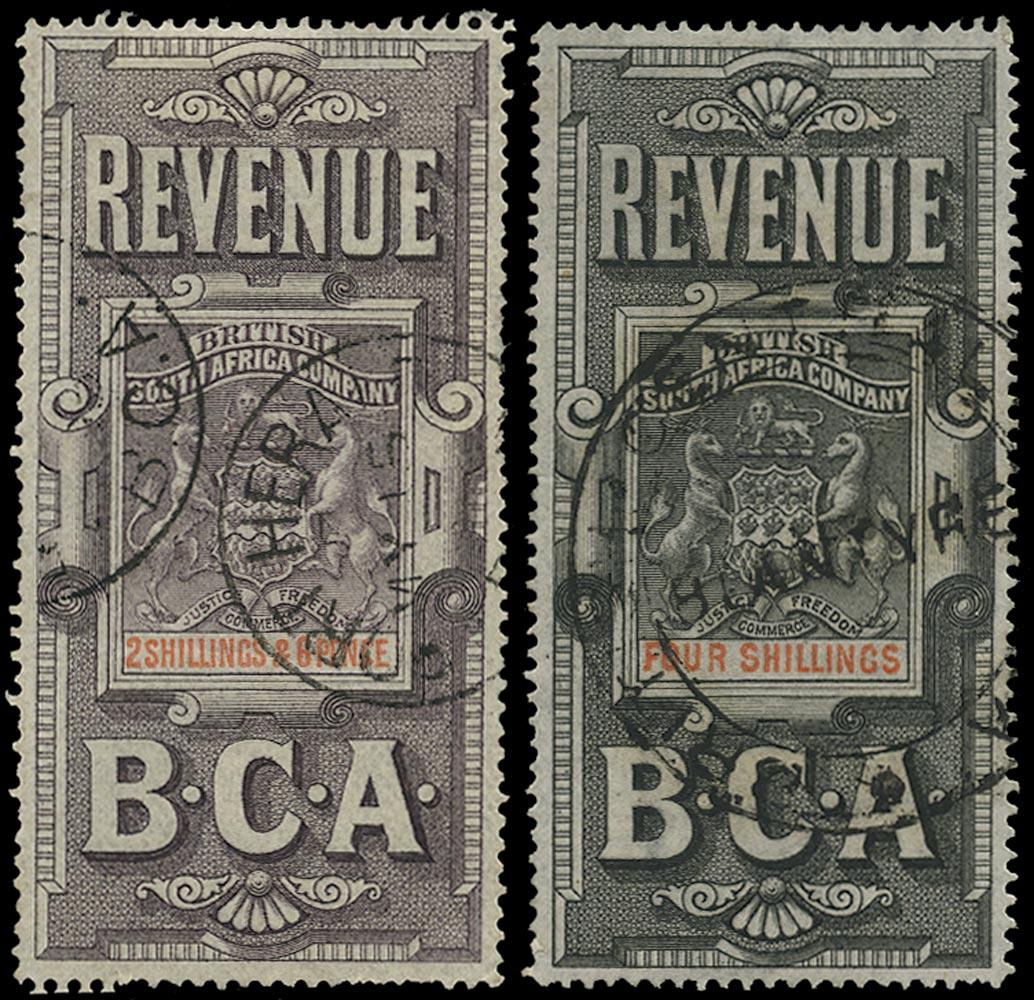 NYASALAND 1891 Revenue