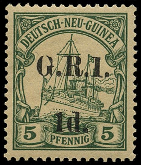 NEW GUINEA 1914  SG2 var Mint