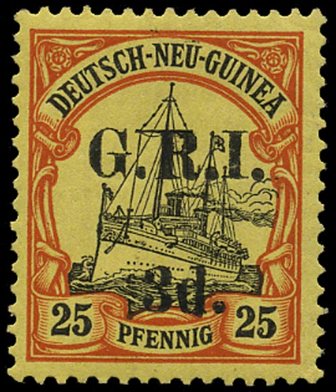 NEW GUINEA 1914  SG7 Mint
