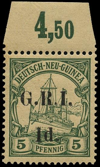 NEW GUINEA 1914  SG17c Mint