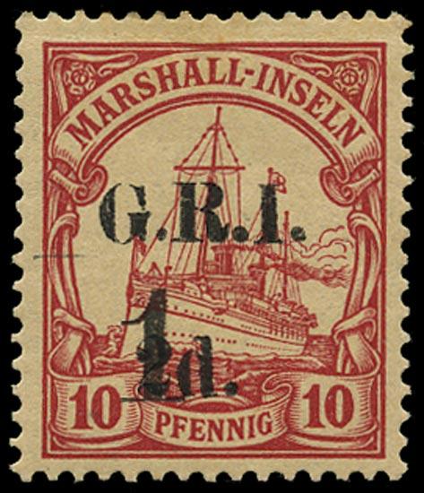 NEW GUINEA 1915  SG63 Mint