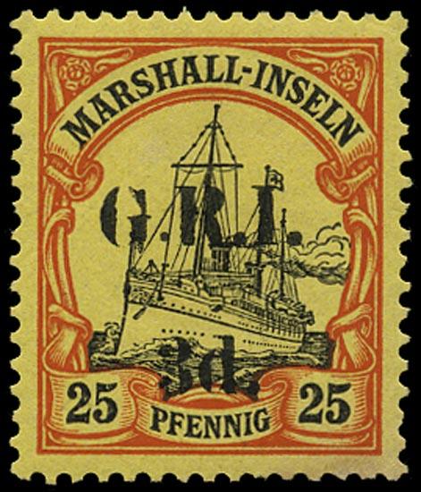 NEW GUINEA 1914  SG54 Mint
