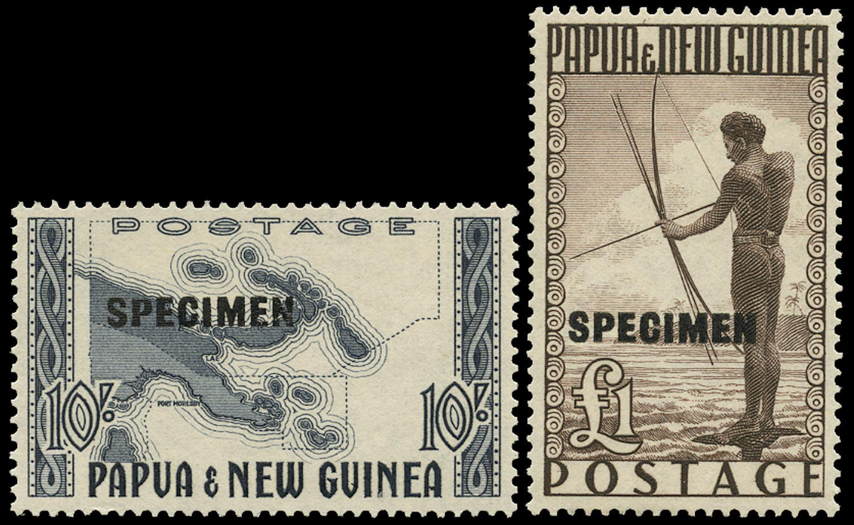 PAPUA NEW GUINEA 1952  SG14s/15s Specimen