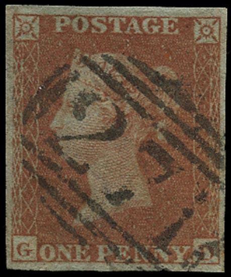 GB 1841  SG8 Pl.175 Used