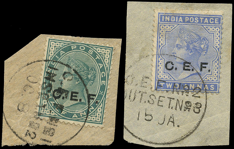 INDIA CEF 1900  SGC2, 4 Cancel