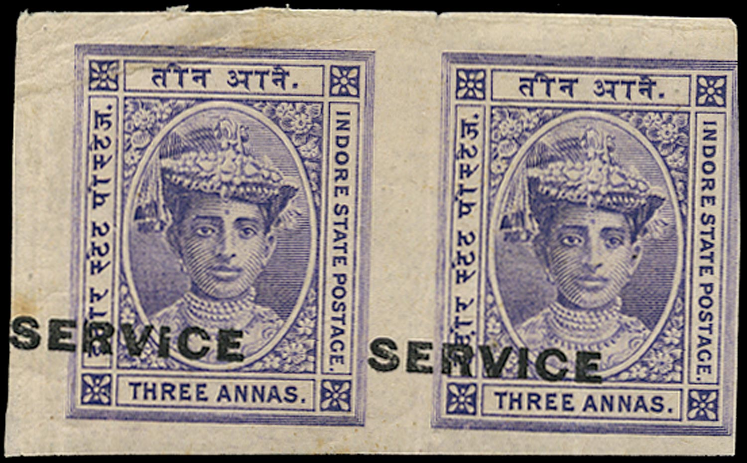I.F.S. INDORE 1904  SGS5a Official