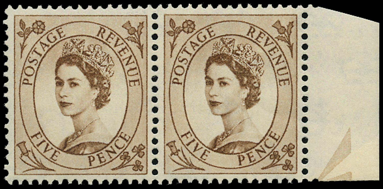GB 1958  SG578var Mint - 'Spot on Daffodil' variety