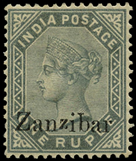 ZANZIBAR 1895  SG17E Mint