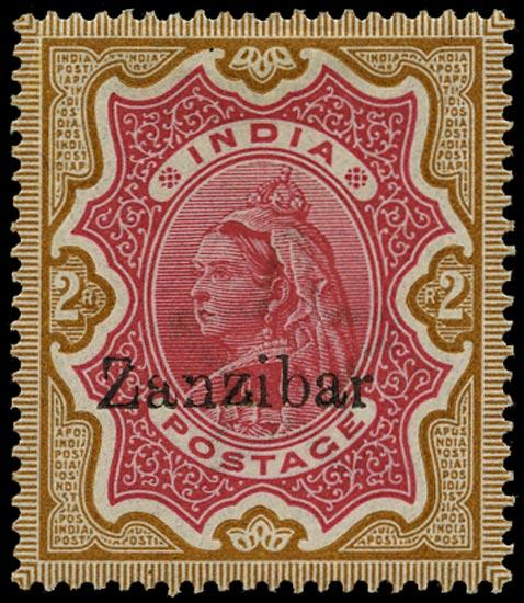 ZANZIBAR 1895  SG19var Mint