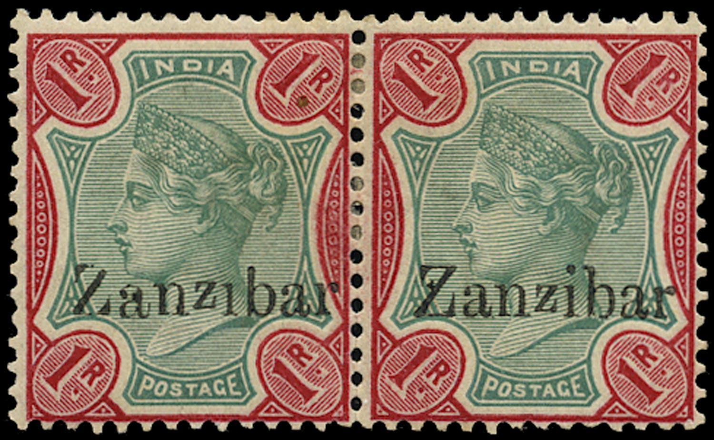 ZANZIBAR 1895  SG18D/G Mint