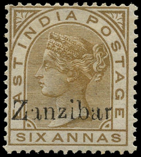 ZANZIBAR 1895  SG13I Mint