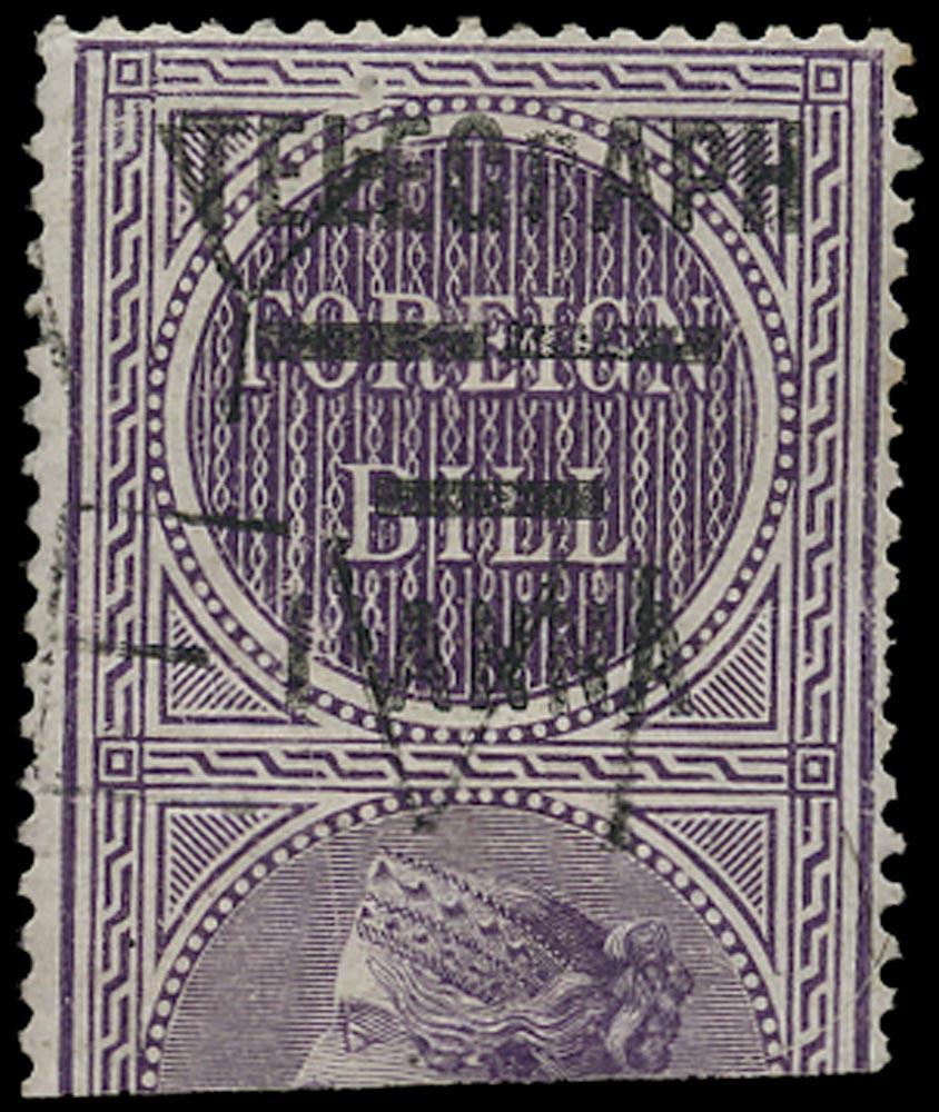 INDIA 1904  SGT66c Telegraph