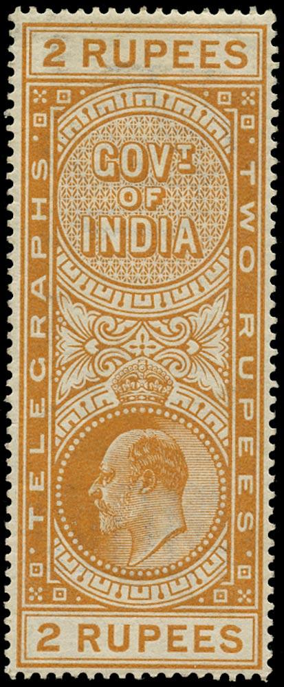 INDIA 1904  SGT61 Telegraph