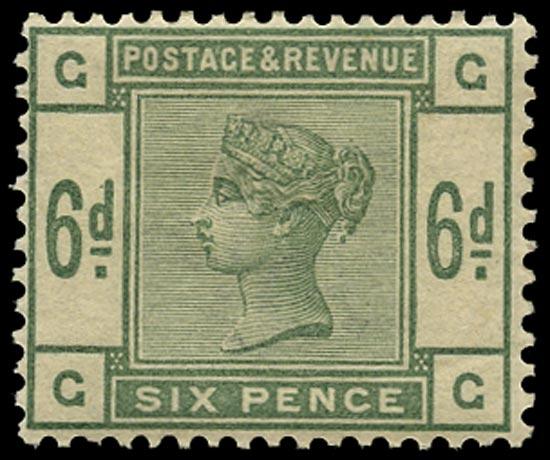 GB 1883  SG194 Mint - unused o.g. example (GG)