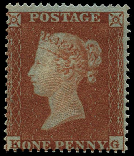 GB 1854  SG17 Pl.172 Mint - unused o.g. (KG)