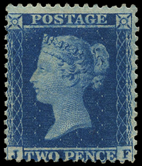 GB 1855  SG34 Pl.5 Mint - unused large part o.g. example (JF)