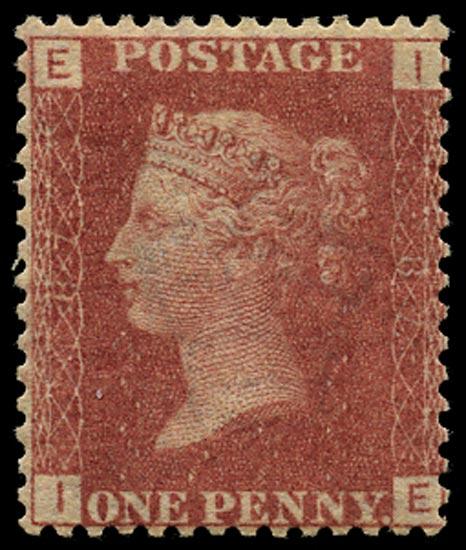 GB 1864  SG43 Pl.87 Mint Unused o.g. example (IE)
