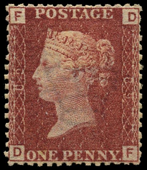 GB 1864  SG43 Pl.89 Mint Unused o.g. example (DF)