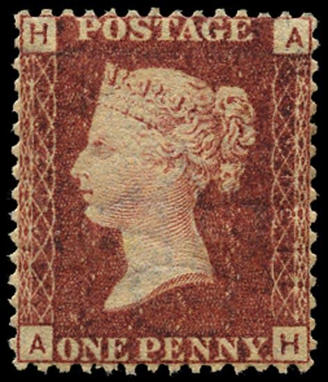 GB 1868  SG43 Pl.112 Mint Unused o.g. example (AH)