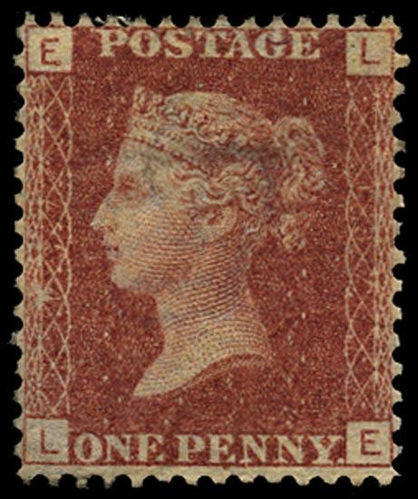 GB 1870  SG43 Pl.137 Mint Unused o.g. example (LE)