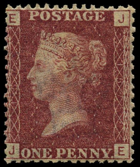 GB 1872  SG43 Pl.157 Mint Unused o.g. example (JE)