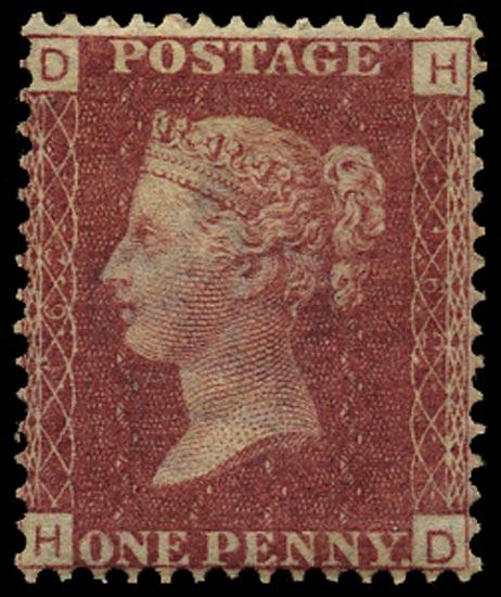GB 1872  SG43 Pl.162 Mint Unused o.g. example (HD)