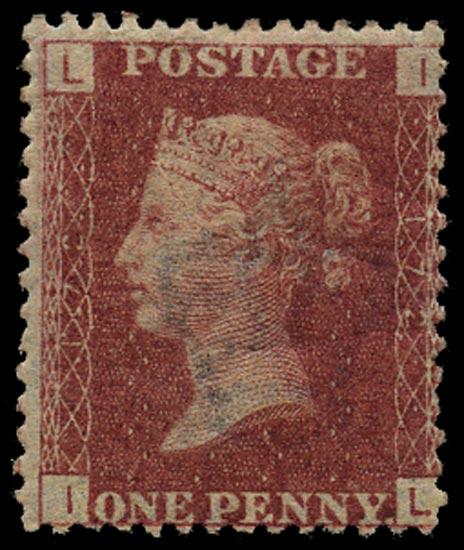 GB 1873  SG43 Pl.172 Mint Unused o.g. example (IL)