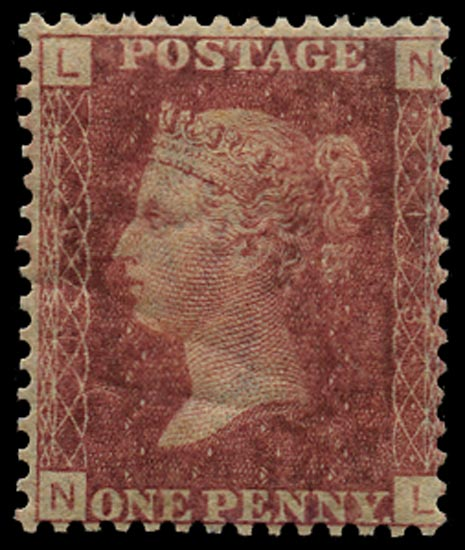 GB 1874  SG43 Pl.173 Mint Unused o.g. example (NL)