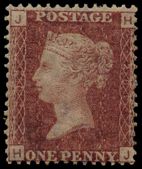 GB 1877  SG43 Pl.202 Mint Unused o.g. example (HJ)