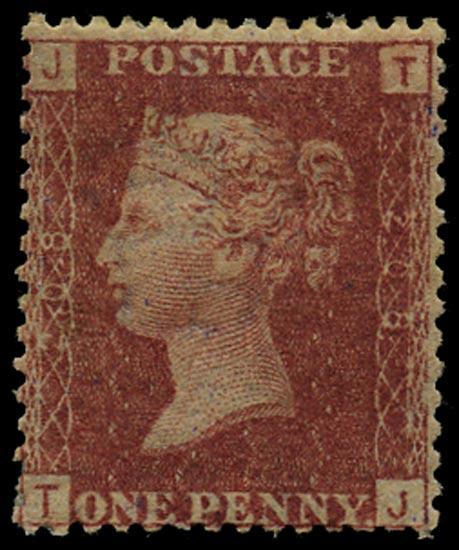 GB 1877  SG43 Pl.208 Mint Unused o.g. example (TJ)