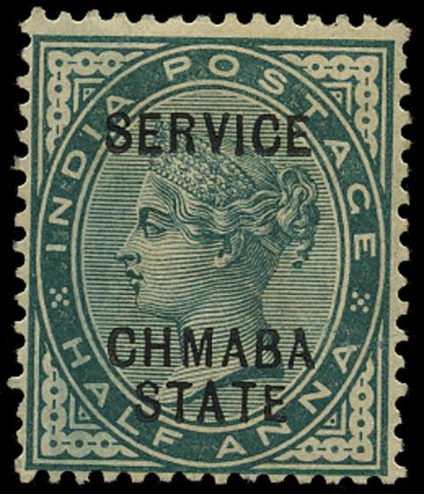 I.C.S. CHAMBA 1887  SGO1a Official